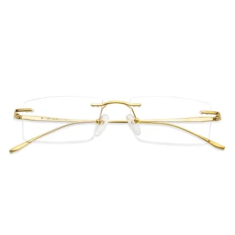 Original Rectangle Pro Titanium RIMLESS